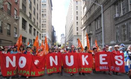 NPT再検討会議・ニューヨーク行動で核兵器禁止署名を提出!