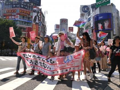 「だれの子どもも、ころさせない」ママの渋谷ジャックに2000人!