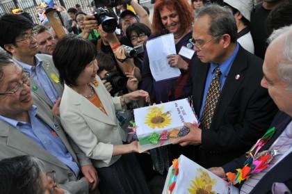 700万の署名と行動が世界を動かす!NPT再検討会議 ニューヨーク国際共同行動
