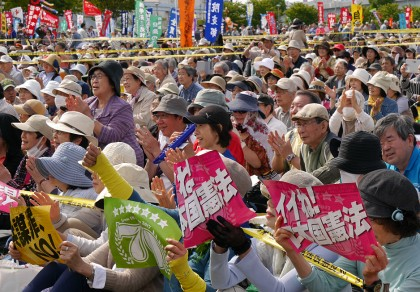 日本国憲法施行70年―5・3憲法集会に5万5000人!